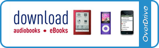 Overdrive e-books and audio books