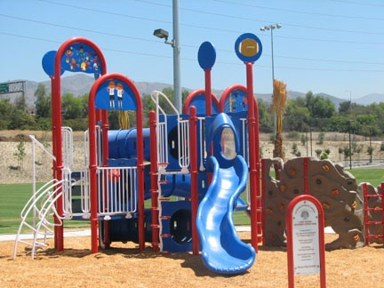 Louie Pompei playground