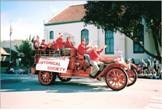 Glendora Historical Society in the Christmas Parade