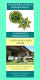Garage/Yard Sale Brochure
