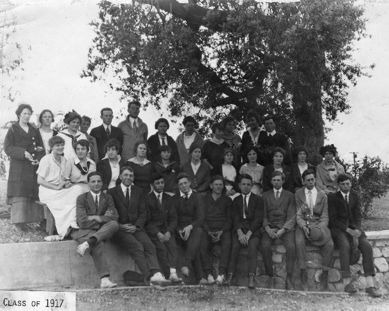 First Graduating Class 1917