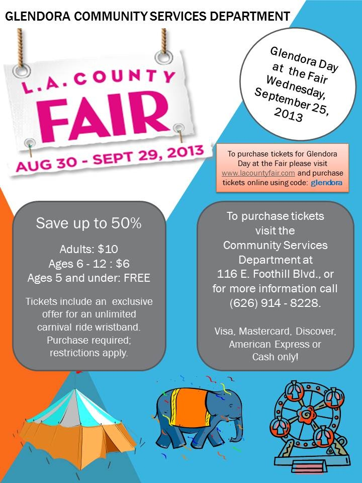 La County Fair 2013 Ticket Sales