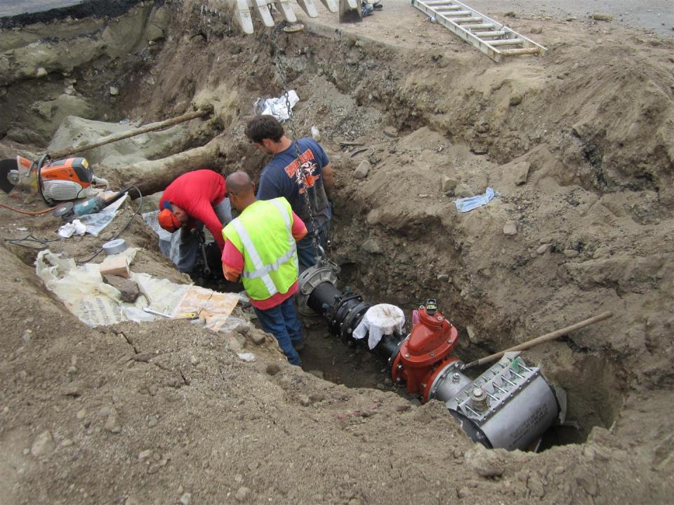 CIP New transmission main from Well 14