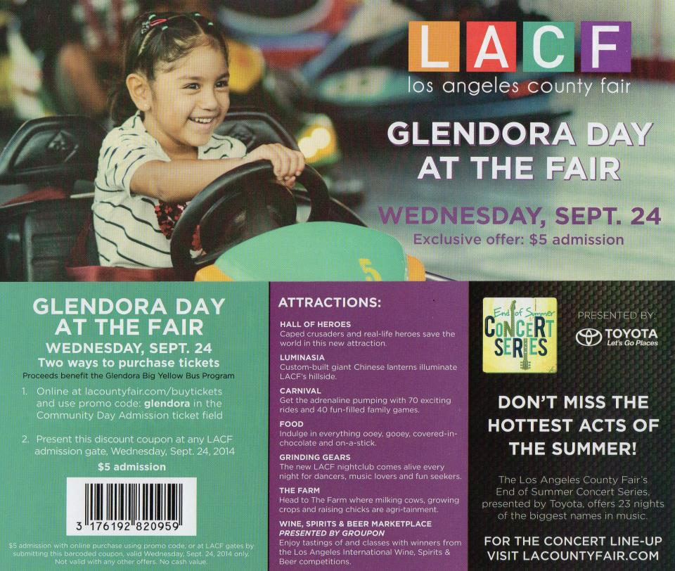 2014 Glendora Day at the Fair