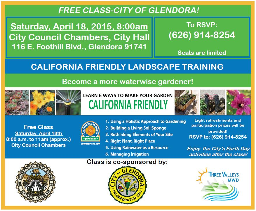 Free Friendly Landscaping Training | Sat. Apr. 18th