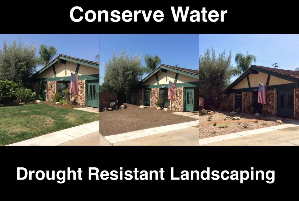 Glendora Residential Landscaping June 2015