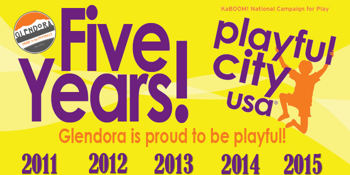 City Earns Playful City USA Honor Fifth Year in a Row!