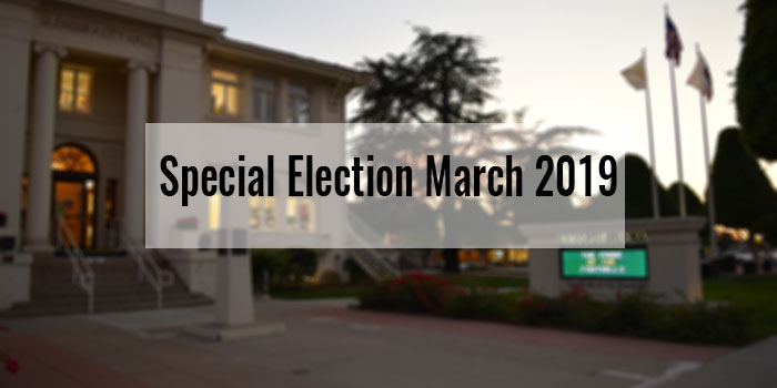 Special Election March 2019